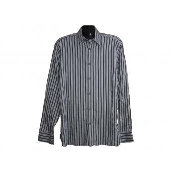 Мужская серая рубашка MARKS & SPENCER AUTOGRAPH, L