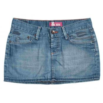 Женская джинсовая мини юбка H&M, XS