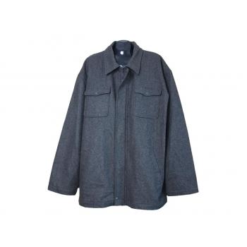 Мужская шерстяная куртка большого размера TRENDERS, 5XL