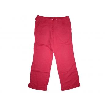 Женские красные льняные брюки S. OLIVER