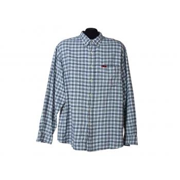 Мужская теплая рубашка в клетку LEE COOPER, L
