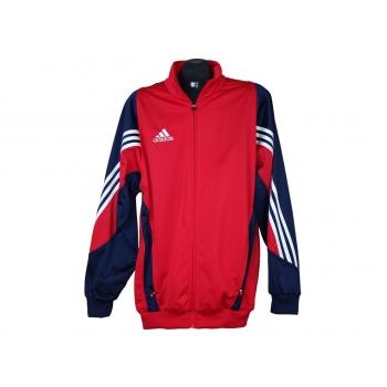 Мужская красная куртка мастерка ADIDAS, L