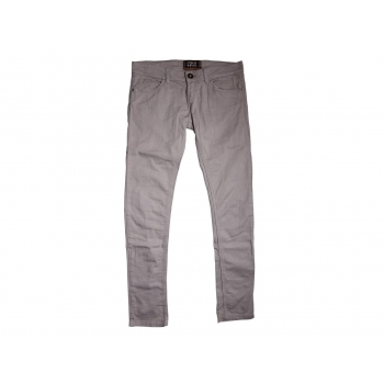 Женские бежевые узкие джинсы PULL & BEAR, L