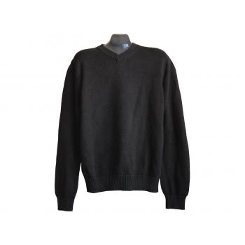 Мужской черный свитер HEMA, L