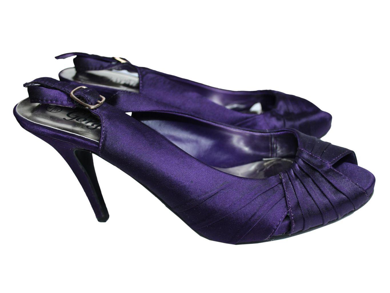 Женские фиолетовые босоножки NEW LOOK 36 размер