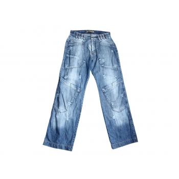 Мужские рваные широкие джинсы W 32 S.T.DIEGO