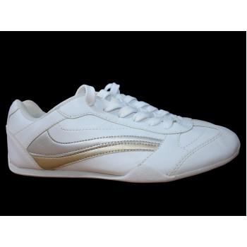 Женские белые кожаные кроссовки GEORGE 38 размер
