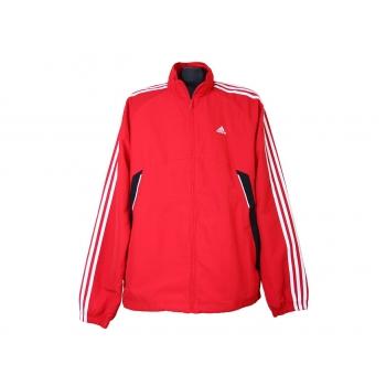 Спортивная красная мужская куртка мастерка ADIDAS, L