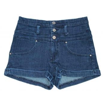 Женские джинсовые высокие шорты MOTO, XS