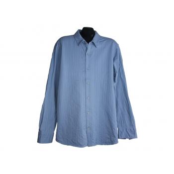 Мужская голубая теплая рубашка CALVIN KLEIN, L