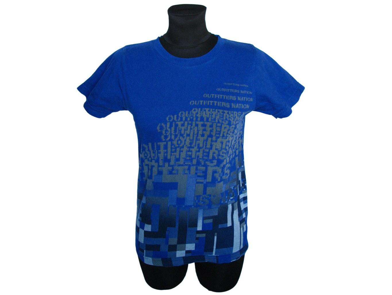 Женская синяя футболка OUTFITTERS NATION, XXS