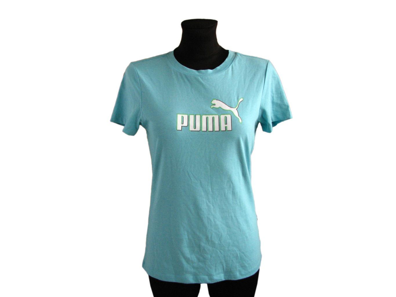 Женская голубая футболка PUMA, XS