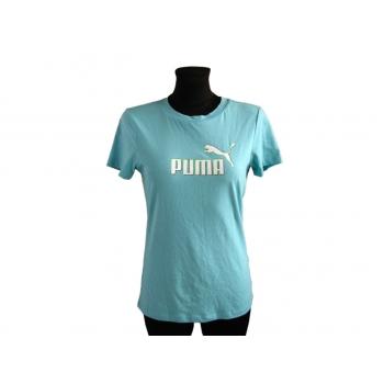 Женская голубая футболка PUMA