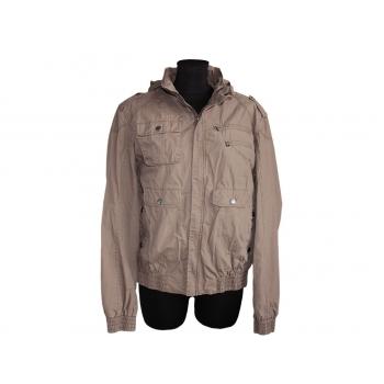 Женская коричневая куртка весна осень H&M, XXXL