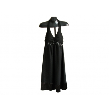 Женский черный сарафан с камнями NEW LOOK, XS