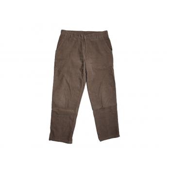 Мужские коричневые вельветовые брюки MC.GORDON W 32