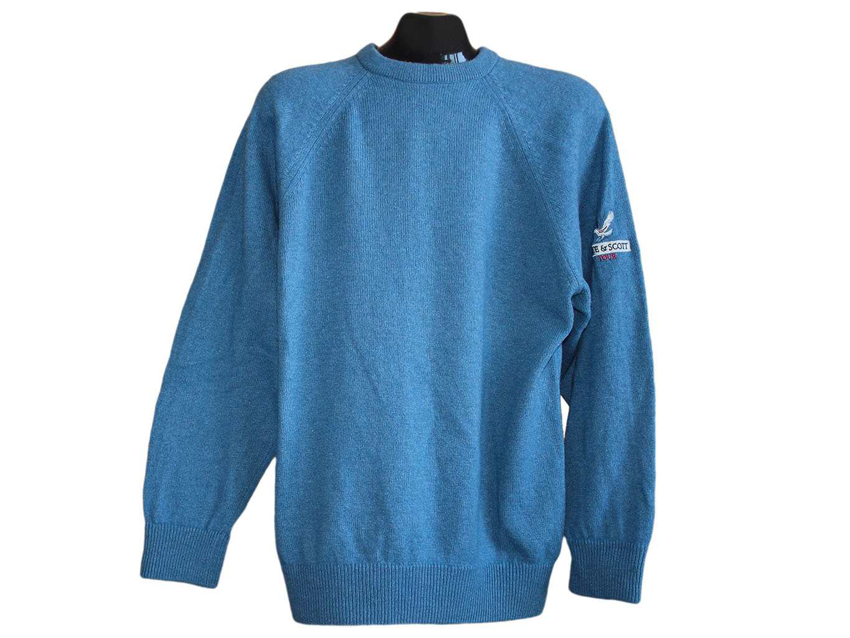 Мужской шерстяной свитер LYLE & SCOTT, L