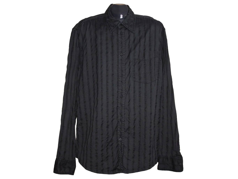 Мужская черная рубашка ESPRIT, XL