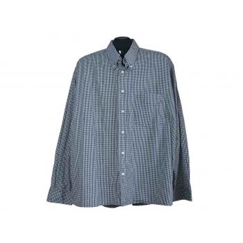 Мужская серая рубашка в клетку JOE DELANCEY