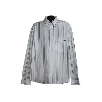 Мужская белая рубашка в полоску S.OLIVER, XL