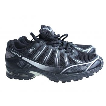 Черные мужские кроссовки FILA 40 размер