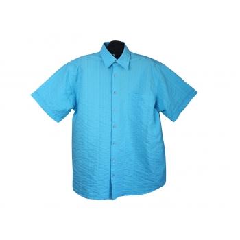 Рубашка мужская синяя VIA CORTESA, XXL