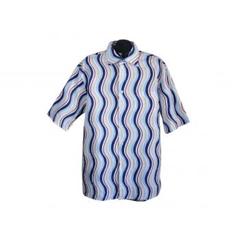 Рубашка мужская в цветную полоску COMMANDER, XXL