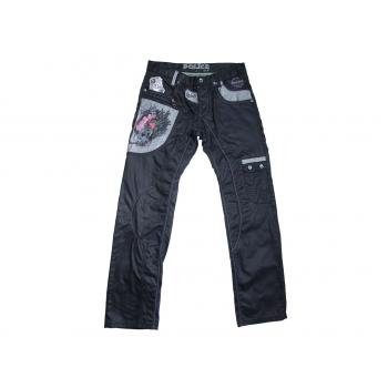 Мужские крутые джинсы на высокий рост W 34 L 36 POLICE 883