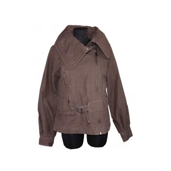 Женская демисезонная коричневая куртка TOP SHOP, XL