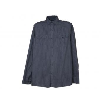 Мужская серая рубашка F&F, М