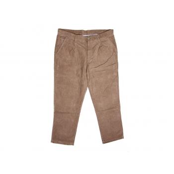 Мужские коричневые вельветовые брюки F&F W 38 L 32