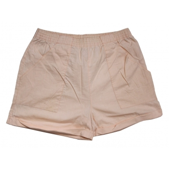 Женские шорты бежевого цвета