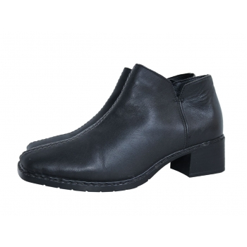 Женские кожаные ботинки RIEKER 37 размер