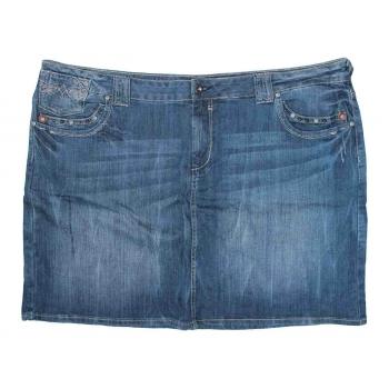 Женская джинсовая мини юбка ETAM JEANS, XXXL