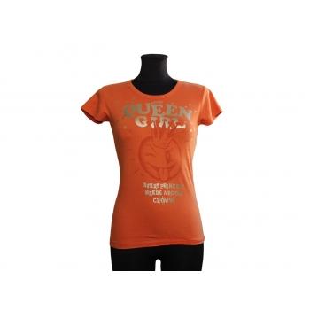 Женская футболка оранжевого цвета APRIL EVIL, XXS