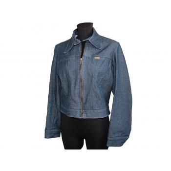 Женская синяя джинсовая куртка MORGAN, М