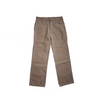 Коричневые вельветовые брюки EUROAD W 32