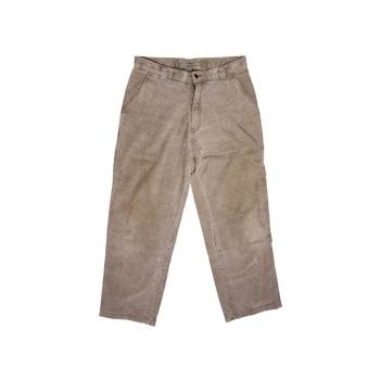 Мужские коричневые вельветовые брюки PPER W 32