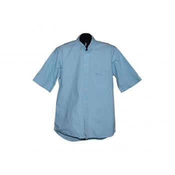 Мужская голубая рубашка THOMAS BURBERRY, L