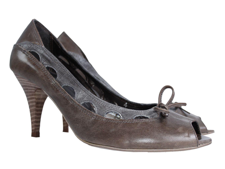 Женские кожаные туфли PER UNA 36 размер