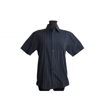Женская черная рубашка в полоску H&M, М