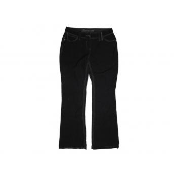 Женские черные вельветовые брюки NEXT Boot cut cord, М