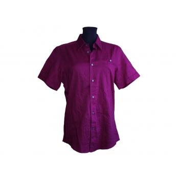 Женская сиреневая льняная рубашка MEXX