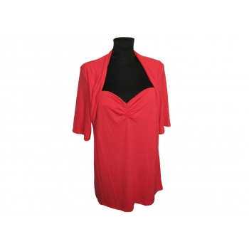 Женская красная блузка на большой бюст GEORGE, L