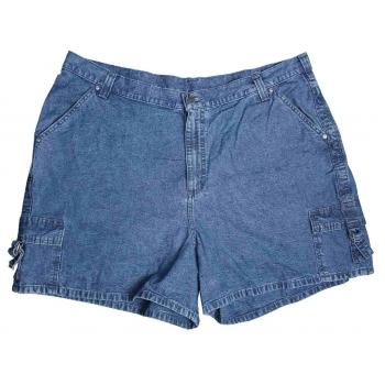Женские синие короткие джинсовые шорты RIVETED BY LEE, XXXL