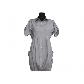 Женское платье с коротким рукавом DENIM