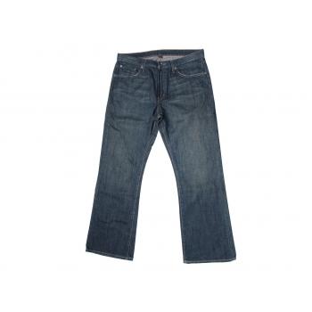 Мужские джинсы клеш BANANA REPUBLIC BOOT CUT W 34 L 32