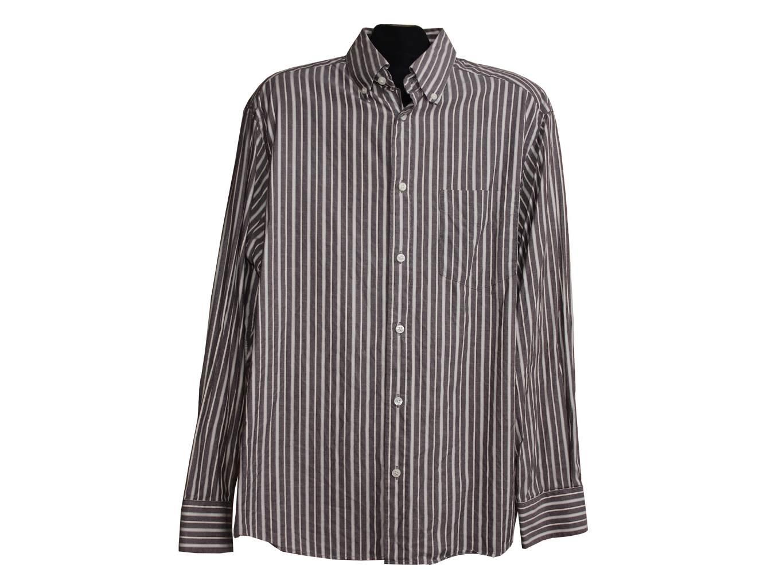 Мужская рубашка в полоску MARKS & SPENCER BLUE HARBOUR, L