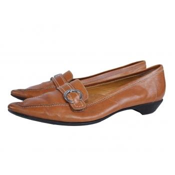 Женские кожаные туфли GEOX 37,5 размер