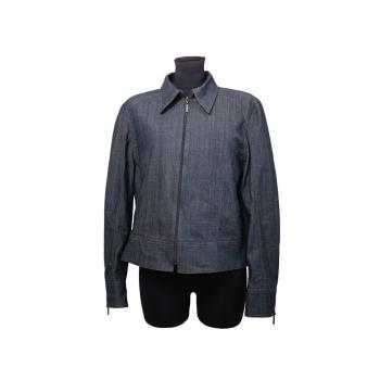 Женская синяя джинсовая куртка SHARE, L